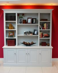 free standing bookcase
