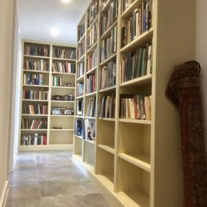 free standing bookcase library shelving