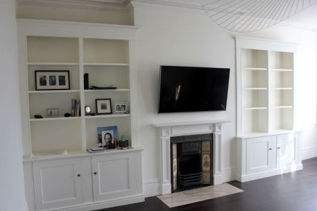 Pair of Alcove Units in Chiswick