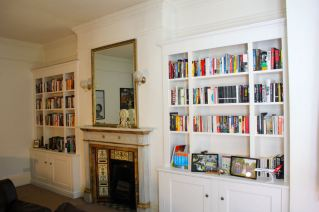 Pair of traditional Alcove Units in Putney