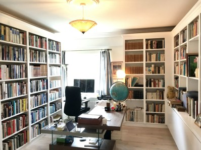 Custom Made Bookcases to form office