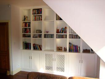 made-to-measure under stairs storage unit Clapham