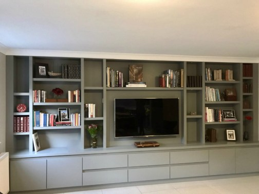 Tv And Media Wall Units: The BookCase Co