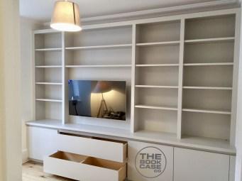 Entertainment bookcase in Wimbledon