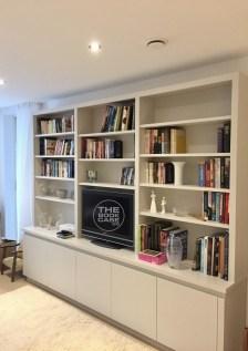 Contemporary Media Bookcase Unit