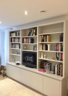 Contemporary Media Bookcase Unit