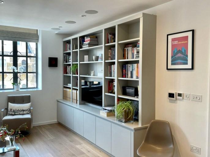 TV storage bookcase