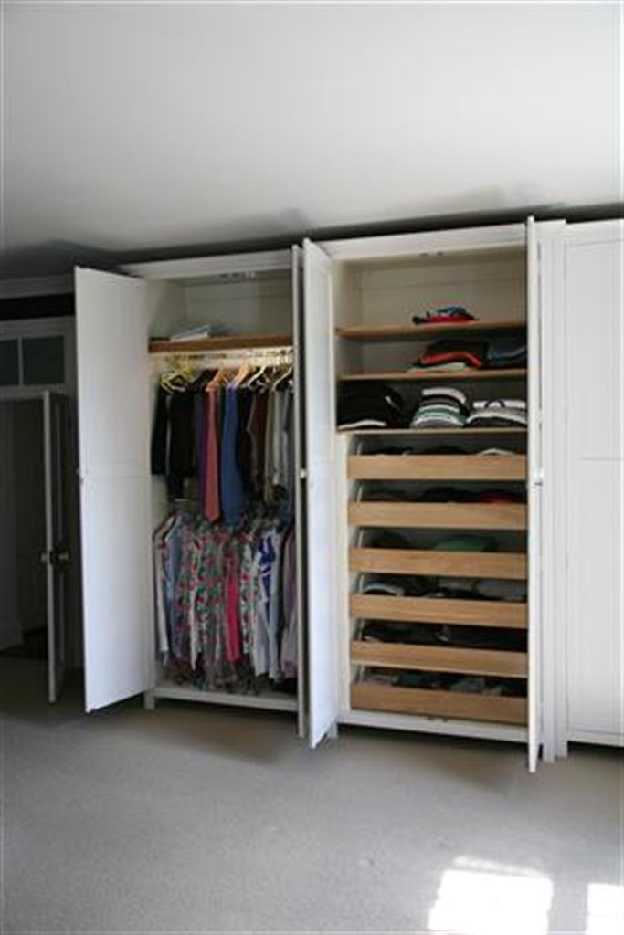 Wardrobe Drawers And Hanging