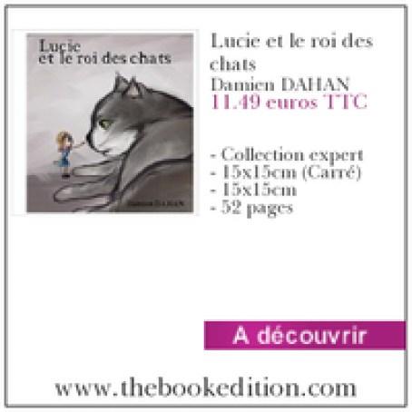 Le livre Lucie et le roi des chats