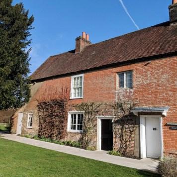 Side View Jane Austen House
