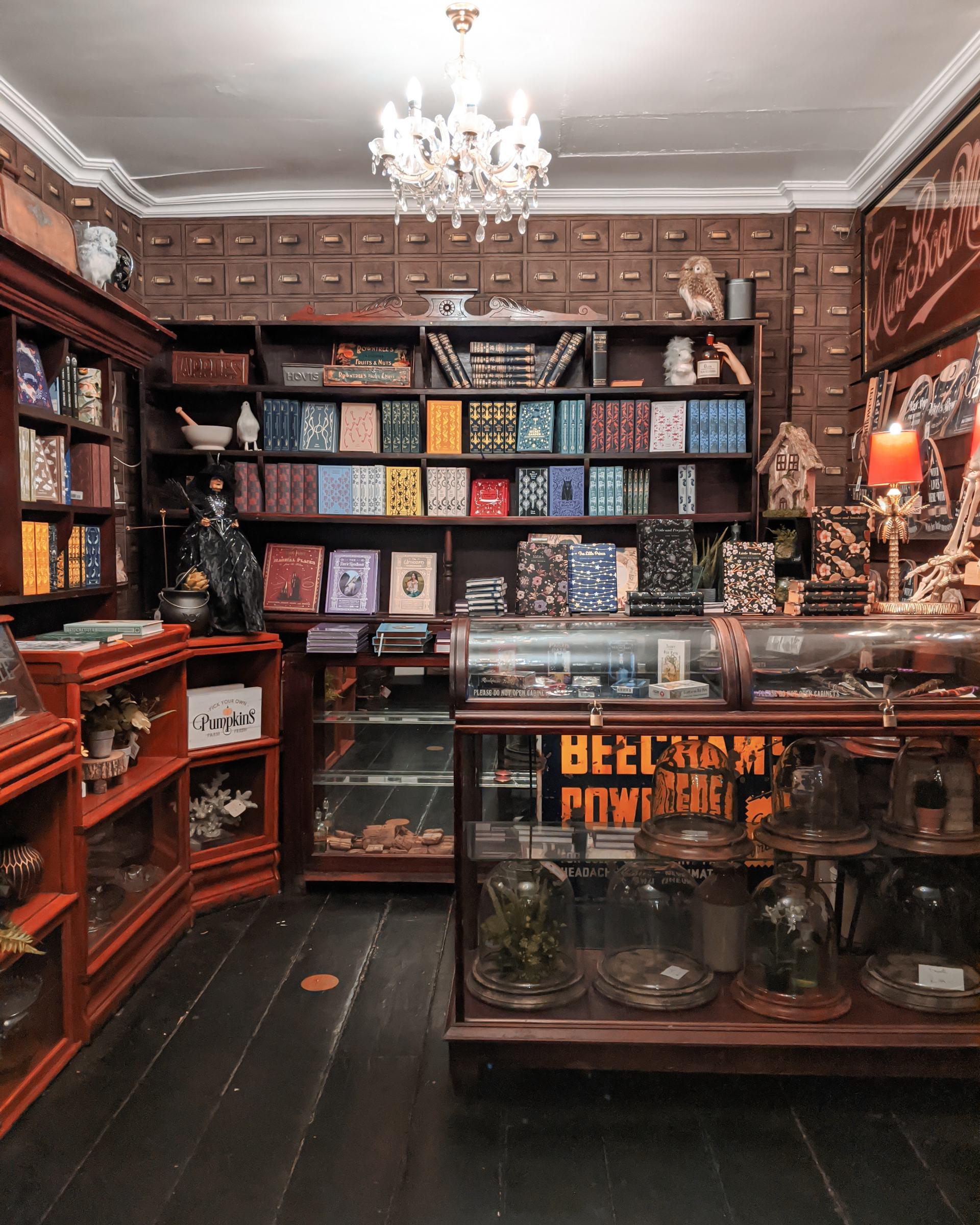 Cauldron Books at The Cabinet of Curiosities Haworth
