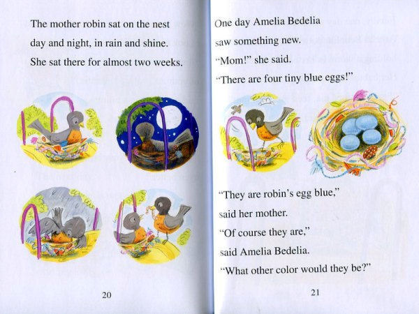 Fiction Books Amelia Bedelia Is For The Birds 15 Level 1