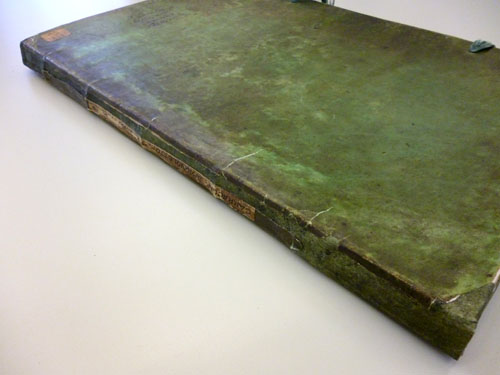 The finished book