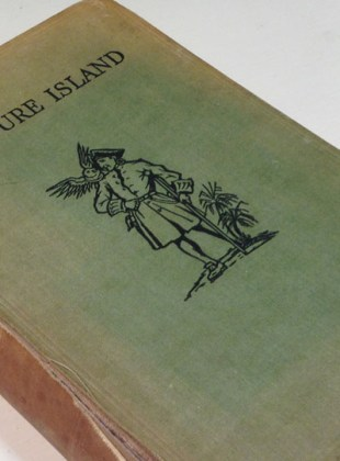 Treasure Island Starting a Fine Binding