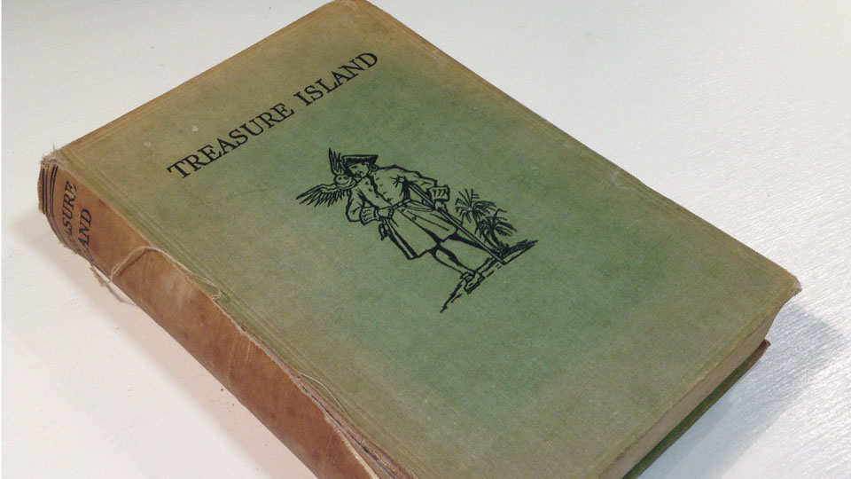 Treasure Island Starting a Fine Binding