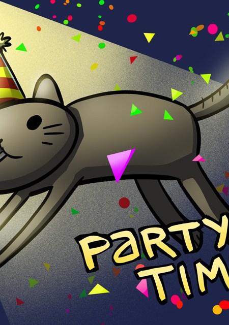 Partycat (Nedroid)