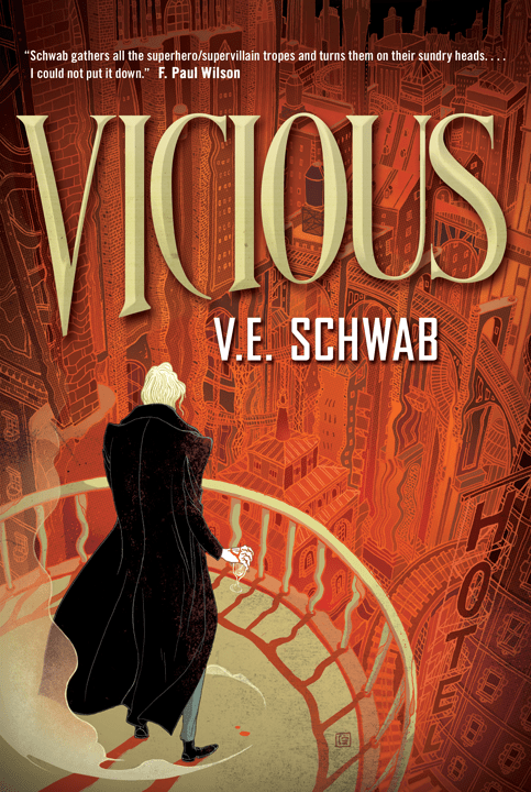Book Review & Giveaway: Vicious by V.E. Schwab |