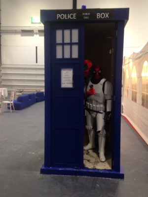 Deadpools in a Tardis