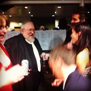 George RR Martin and Thea