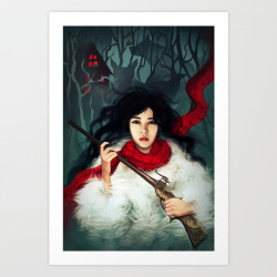 Hunting Monsters Society6 Print (Final)