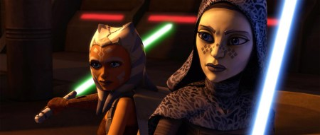 Ahsoka and Barris