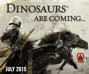 Dinosaurs are coming