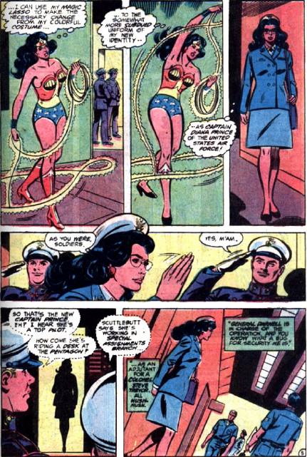 From inside Wonder Woman vol.1 #272 (art by José Delbo)