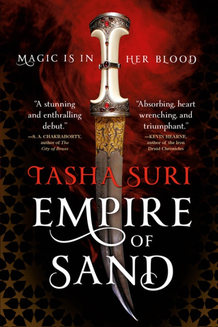 Over at Kirkus: EMPIRE OF SAND by Tasha Suri