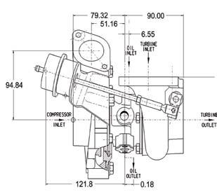 Garrett GT2860R Turbocharger (Garrett PN: 707160-7)