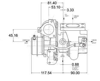 Garrett GT2860R Turbocharger (Garrett PN: 739548-9)