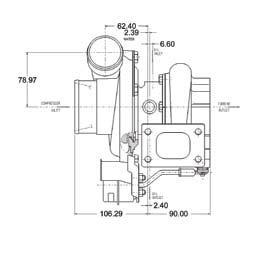 Garrett GT2871R Turbocharger (Garrett PN: 743347-1)