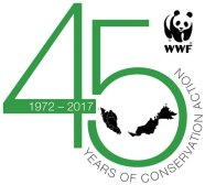 WWF-Malaysia unveils its 45th anniversary logo. — Photo credit WWF-Malaysia