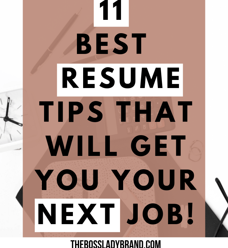 Best Resume Tips