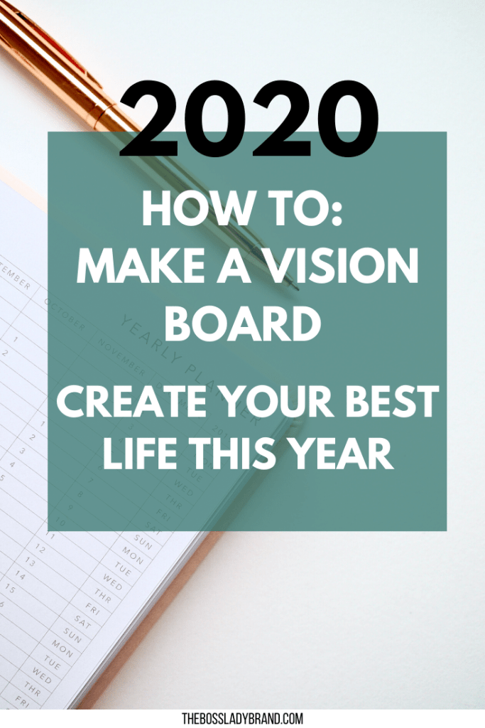 If you've ever wanted to know how to create a vision board, here are all of the steps easily laid out for you! Make sure you reach all your goals this year!