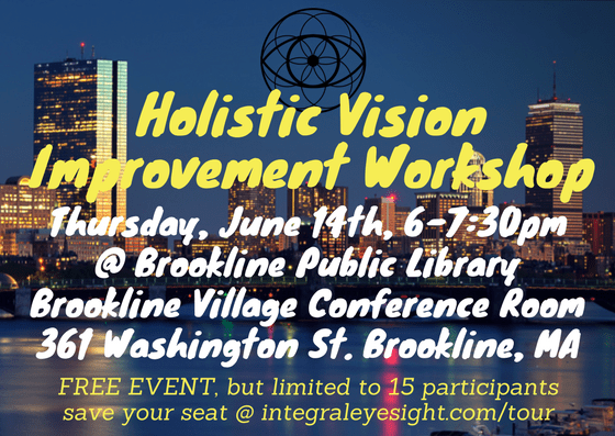 Holistic Vision Improvement Workshop [06/14/18]