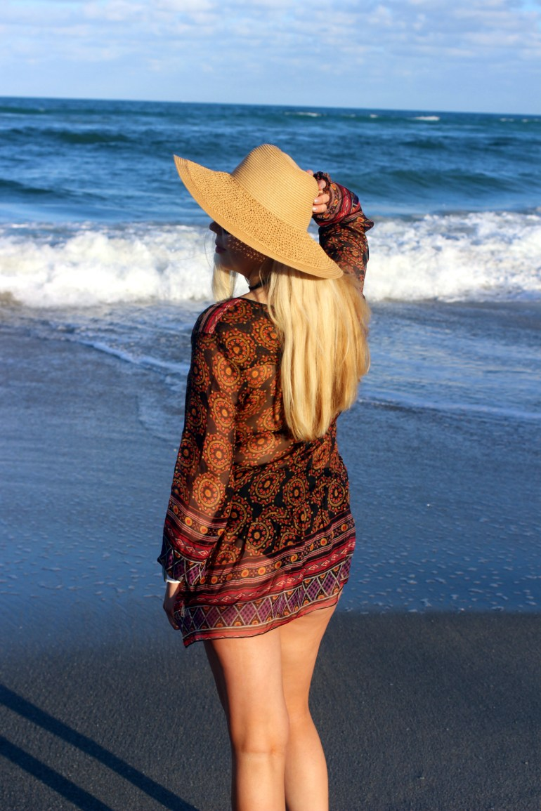 Boho Day On Palm Beach in Johnny Was