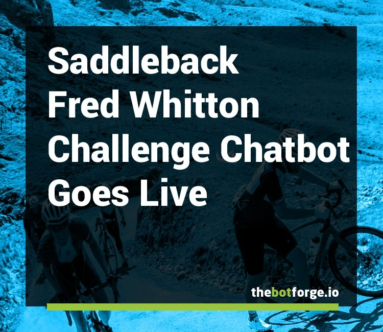 Fred Whitton Challenge Chatbot Goes Live