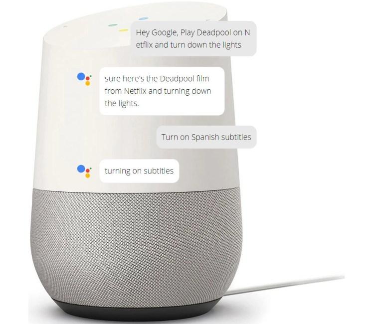 Google Assistant Conversation Example Picture