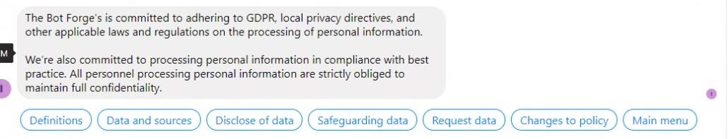 GDPR-Chatbot_Privacy_Menu