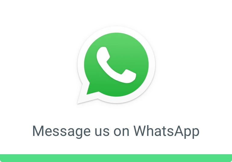 Message us on WhatsApp- WhatsApp for Business.
