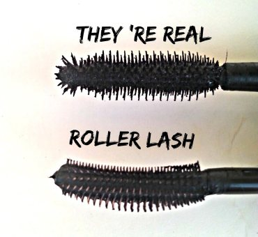 They 're real VS Roller Lash mascara - Βenefit (review)