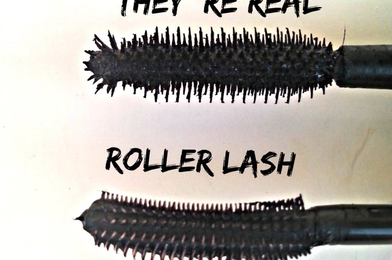 They 're real VS Roller Lash mascara – Βenefit (review)