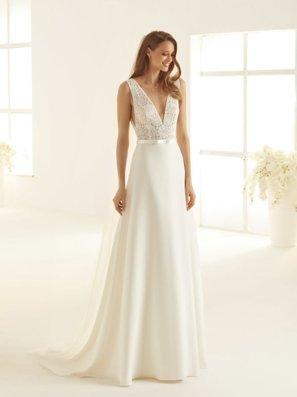 wedding dress for a small ceremony
