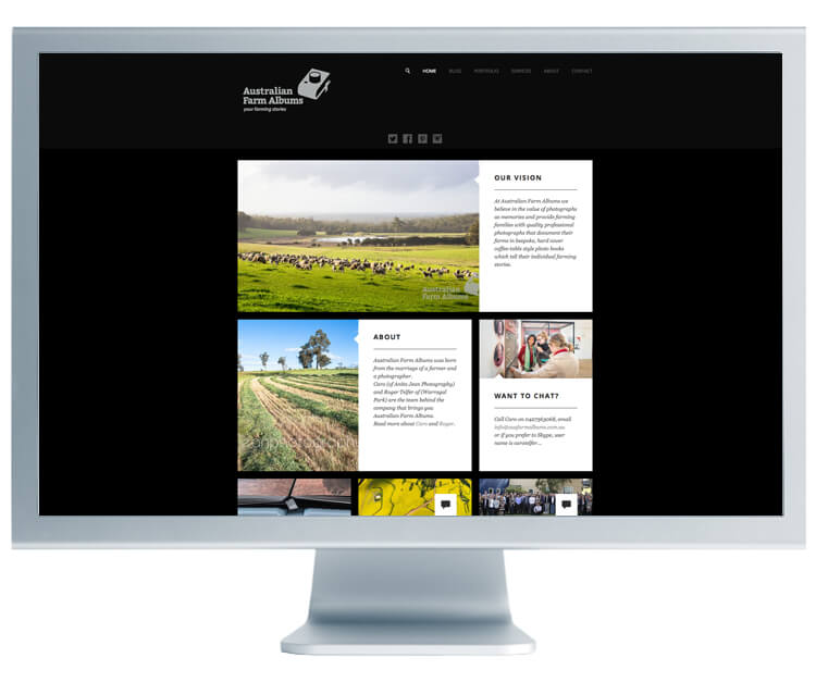 Australian Farm Albums Website