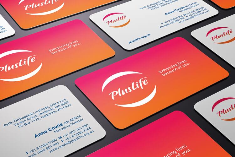 PlusLife Business Cards