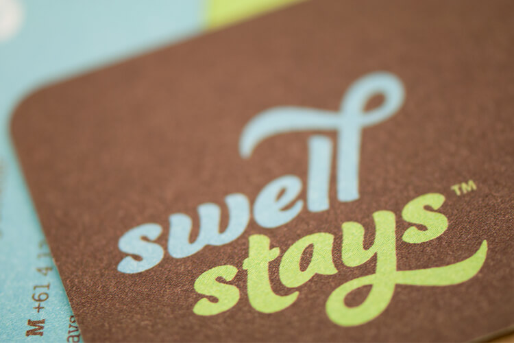 Swell Stays Business Card