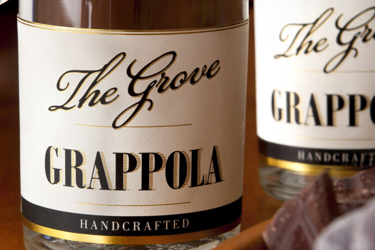 The Grove Experience Grappola Label