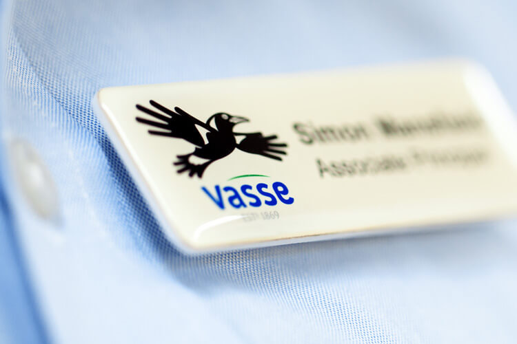Vasse Primary Name Badges