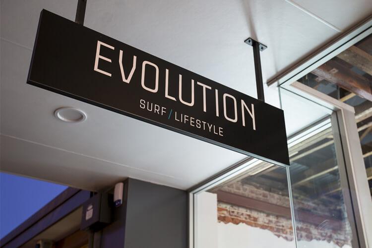 Evolution Signage
