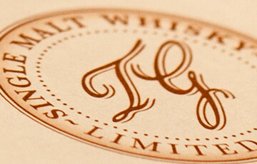 The Grove Experience Whisky Certificate Stamp